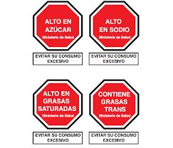 Advertencias alto azúcar MINSA Perú 2